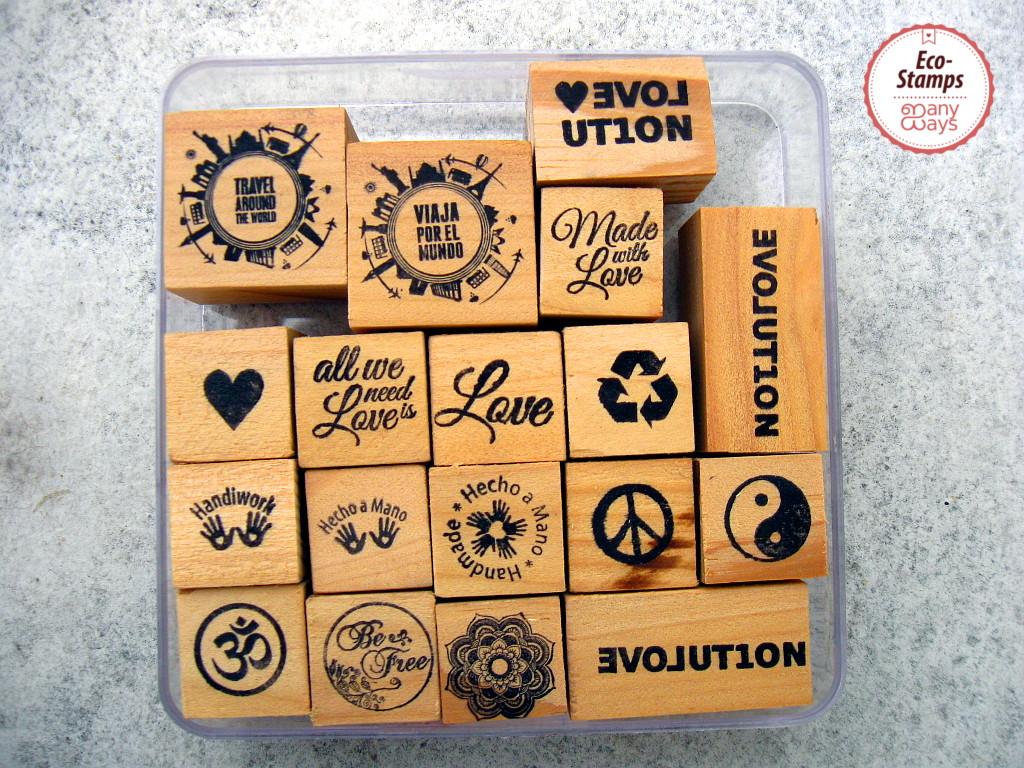 eco sellos diseño catálogo