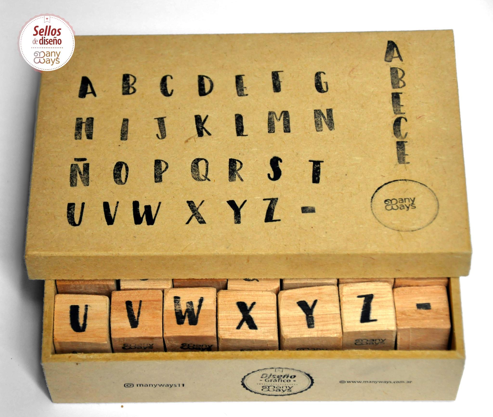 alfabeto en Sellos